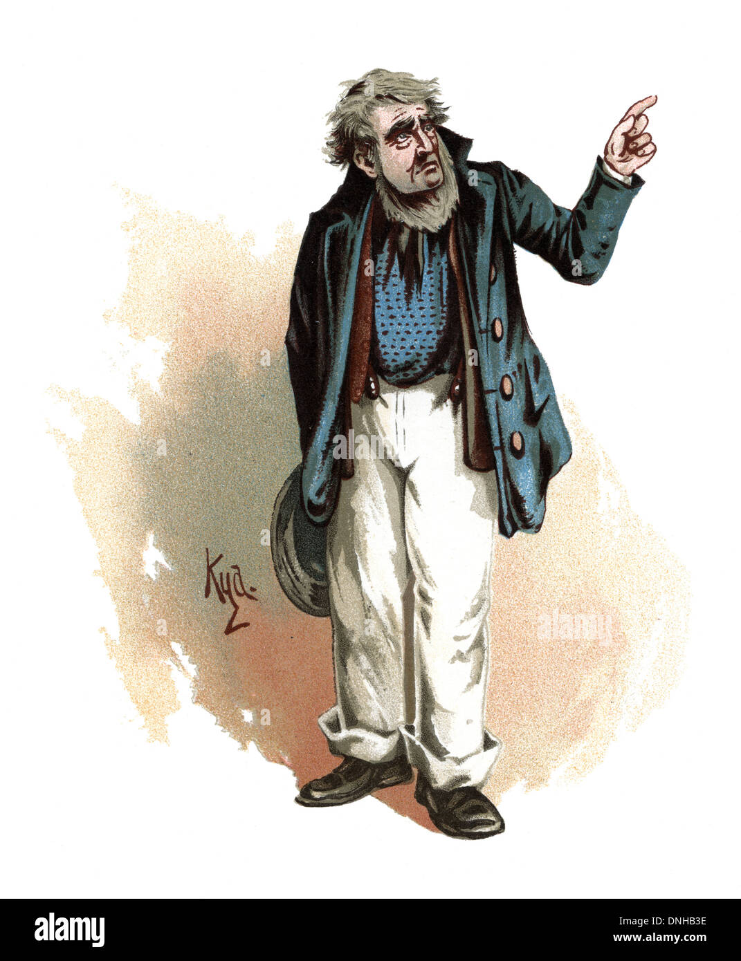 mr peggotty character from david copperfield by charles dickens character from david copperfield by charles dickens