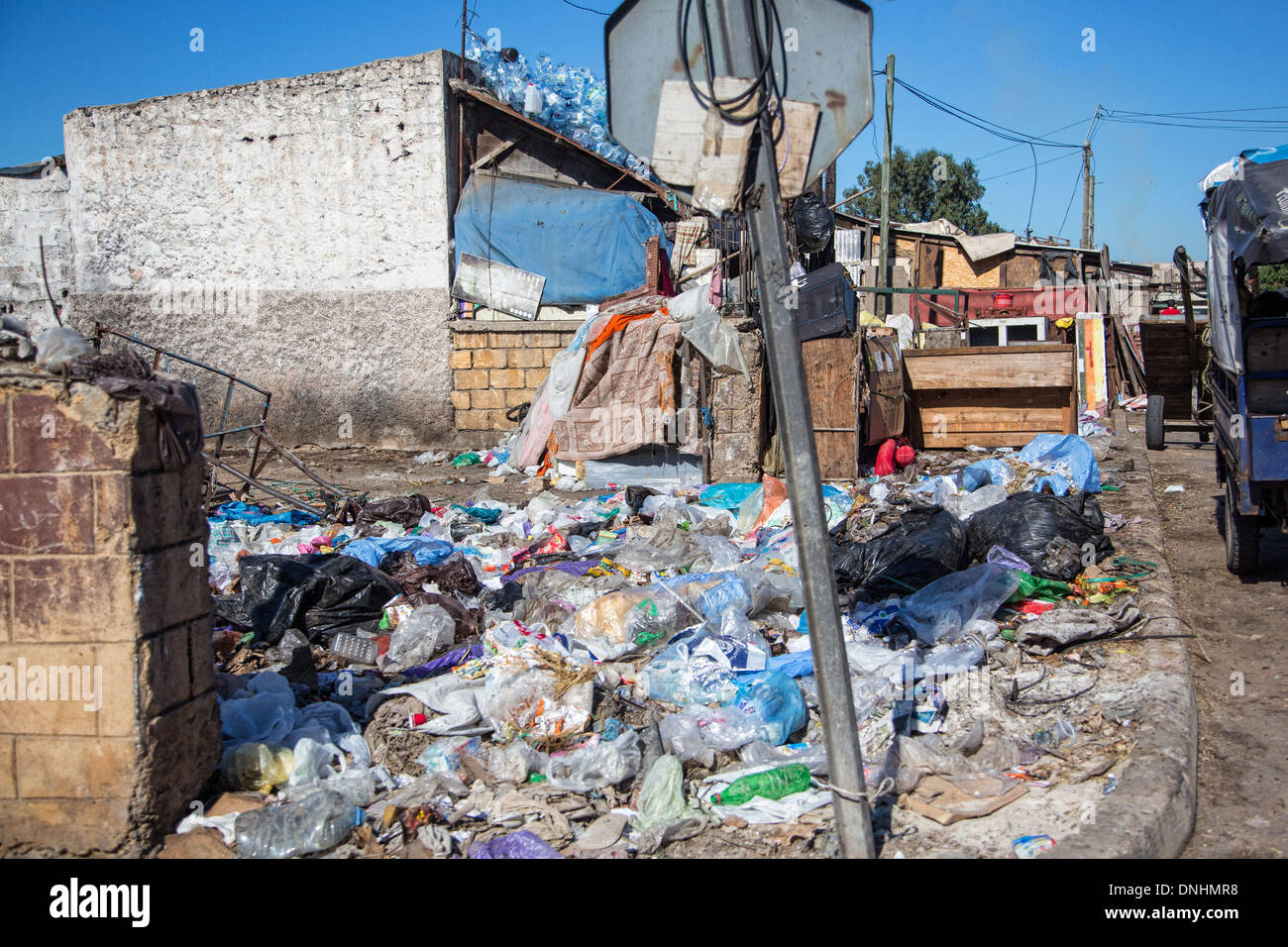 OUTDOOR DUMP NEAR THE SHANTYTOWNS HAY MOHAMMADI THE POOREST - The porest