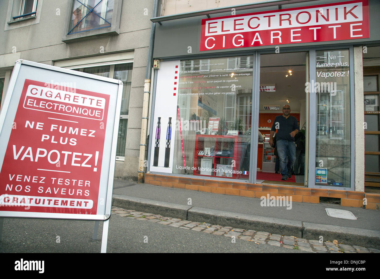 Electronic cigarettes mall kiosk
