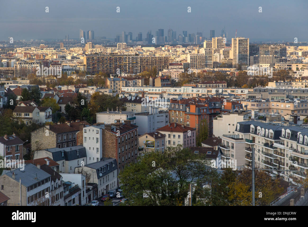 the western suburbs of paris with the cities of meudon sevres stock photo royalty free image. Black Bedroom Furniture Sets. Home Design Ideas