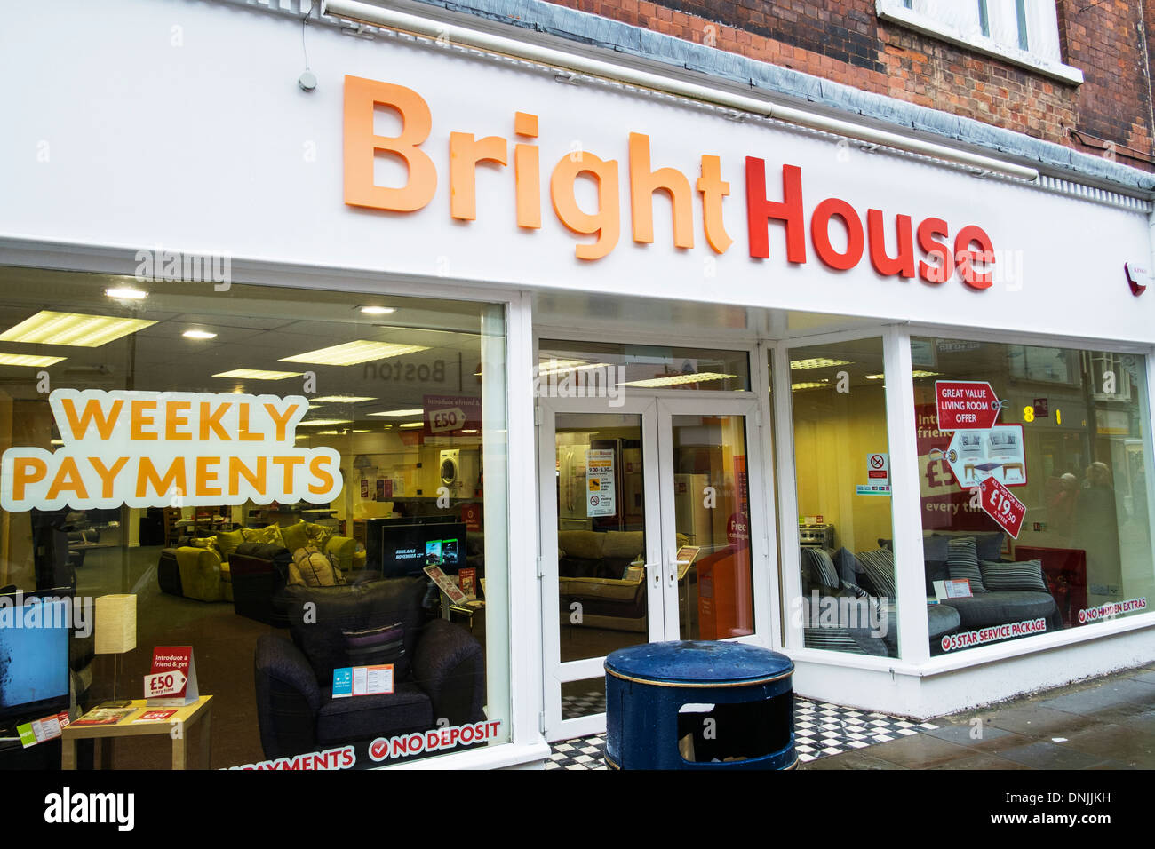 bright house brighthouse store shop outside sign entrance