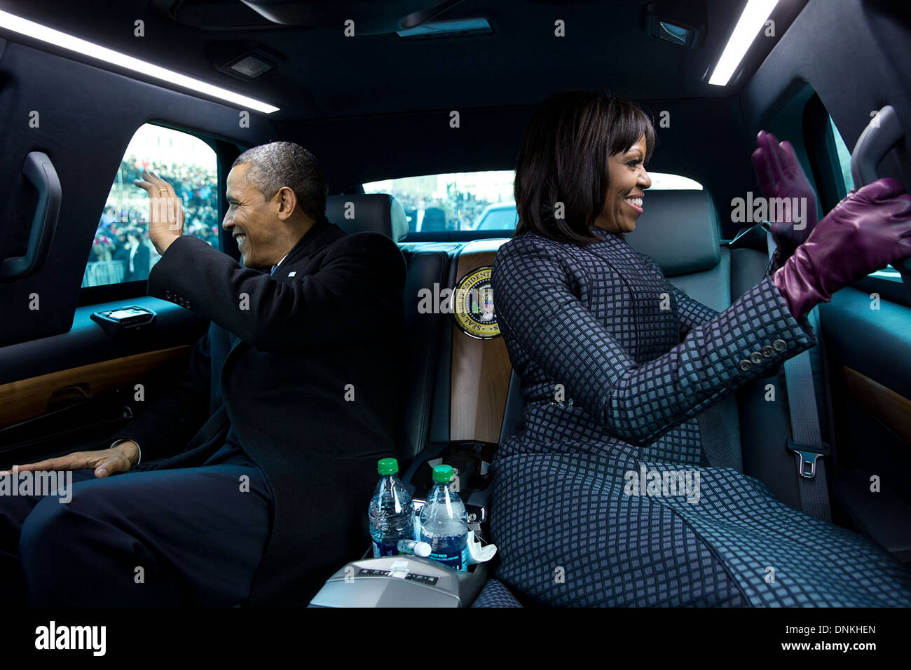 Image result for US Presidential limousine interior