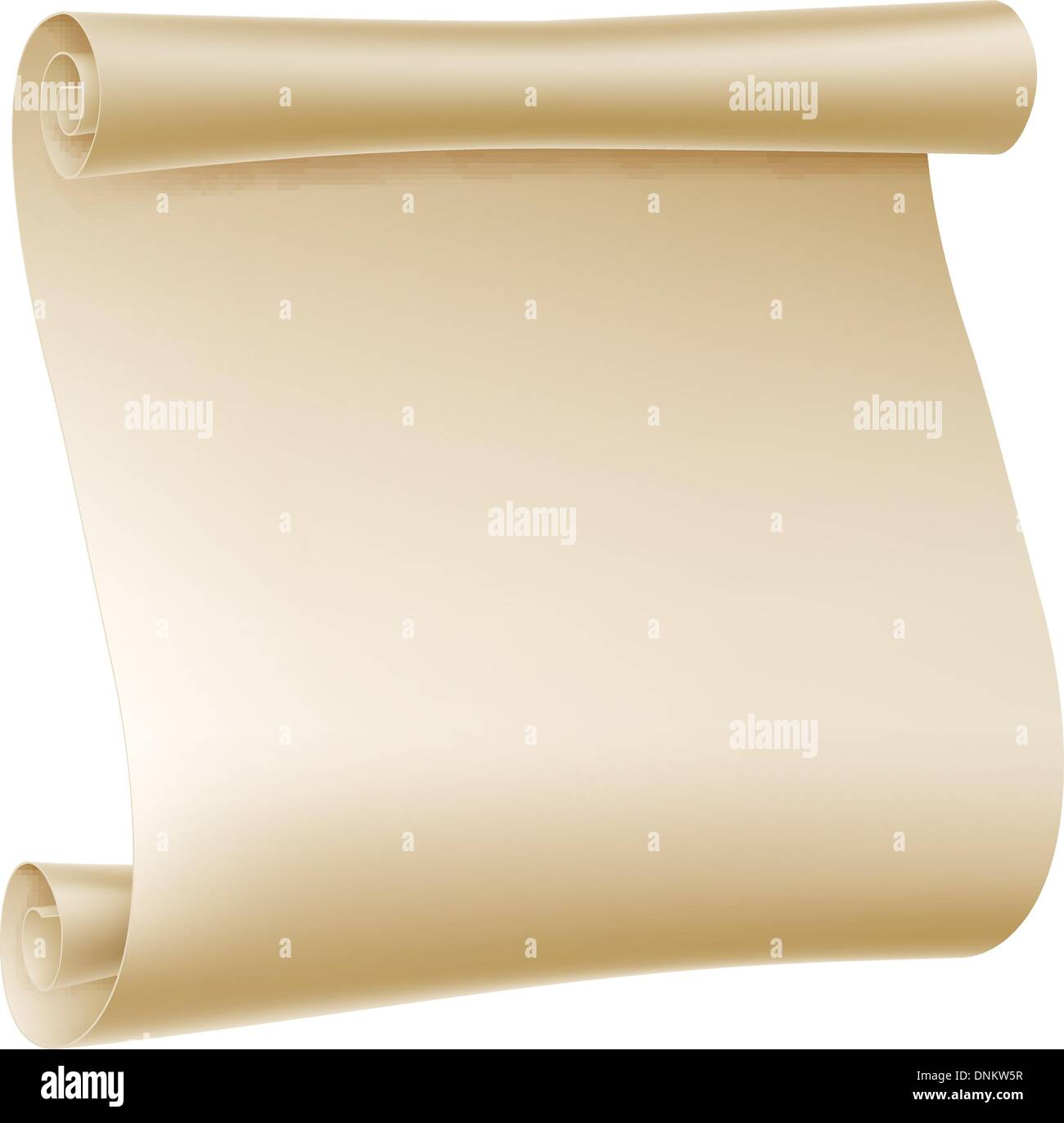 background illustration of an old rolled up paper scroll stock, Powerpoint templates