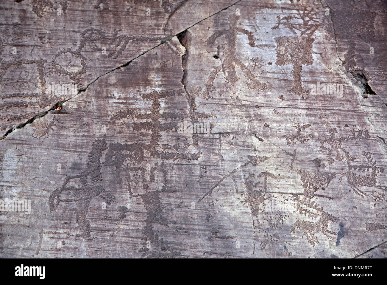 Rock drawings in valcamonica italy lombardy province