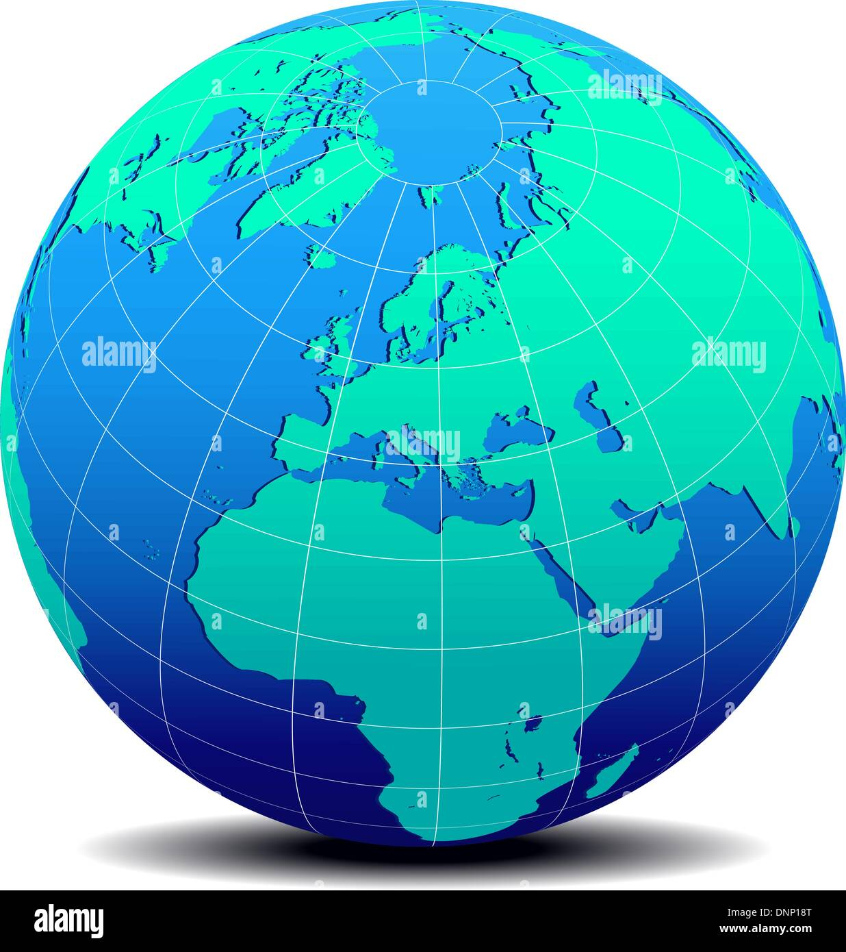 Worksheet. Vector Map Icon of the world in Globe form  Europe  Middle East