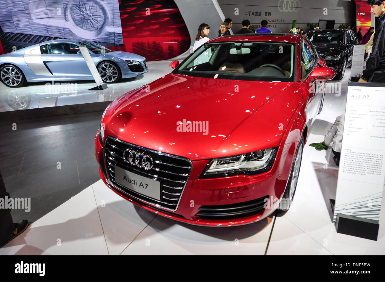 Beijing China Oct China Beijing Imported Auto Expo - Audi new series