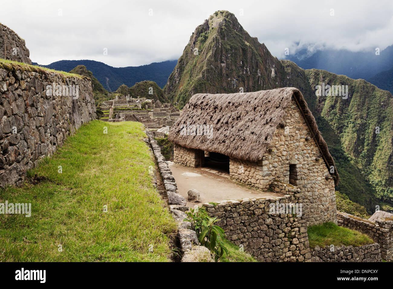 Mountain living near cusco peru royalty free stock photo - Peru Urubamba Province Cusco View To Machu Picchu