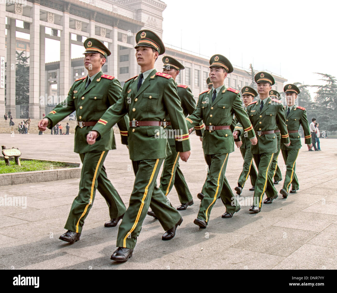 China Police: Beijing, China. 16th Oct, 2006. Uniformed Police Officers