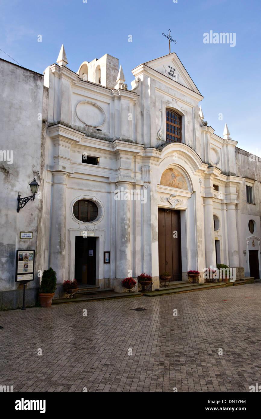 church of san michele arcangelo anacapri capri campania. Black Bedroom Furniture Sets. Home Design Ideas