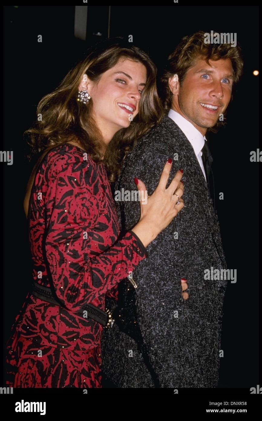 how did kirstie alley and parker stevenson meet