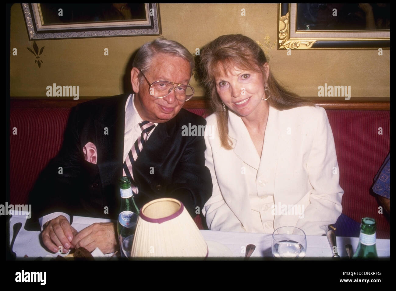 August 17 1994 Hollywood CA USA MEL TORME and wife ALI