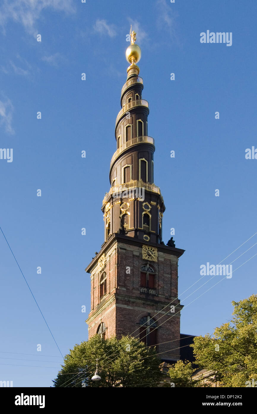 Stairs on church tower dutch baroque style vor frelsers for Dutch baroque architecture