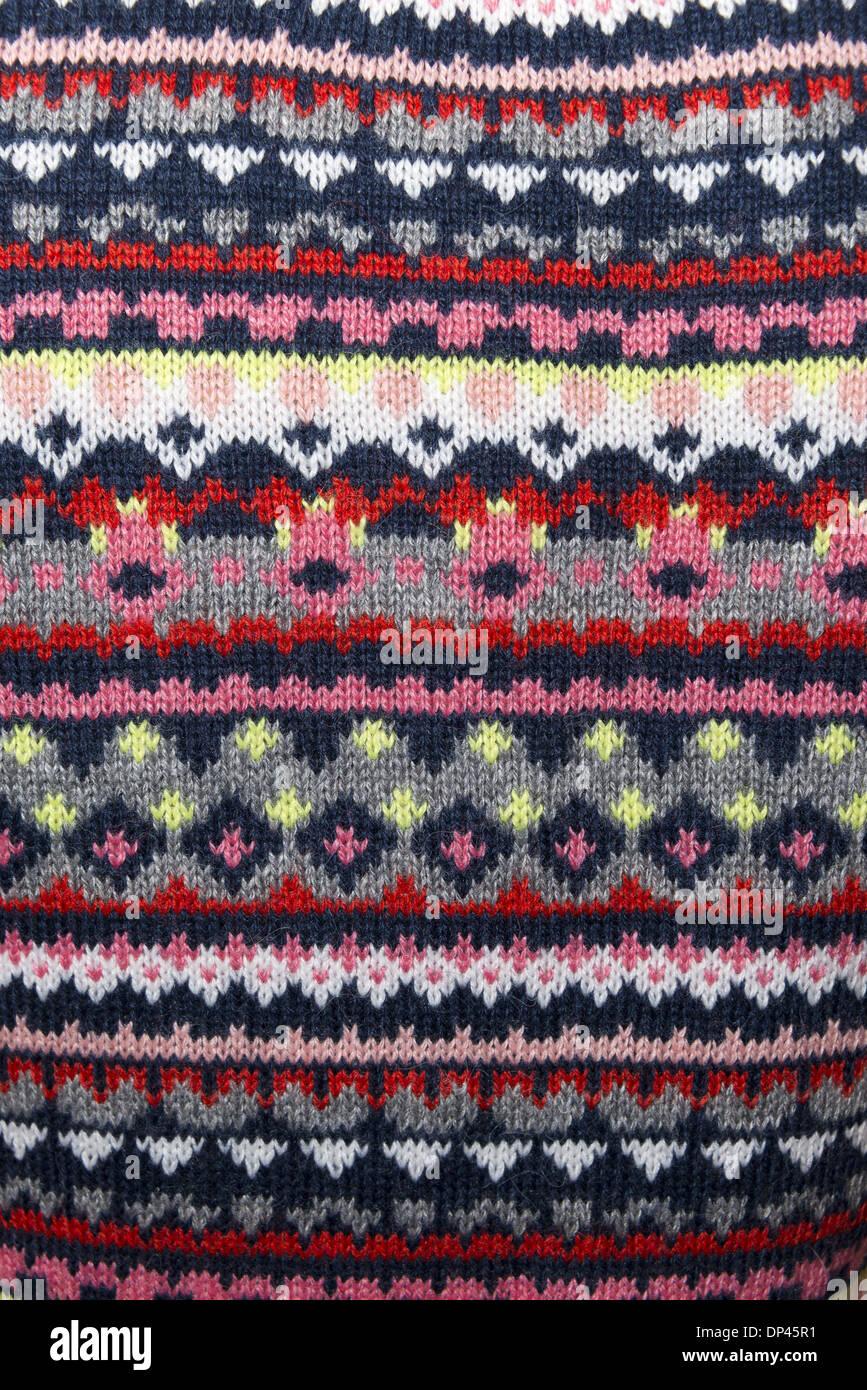Christmas Jumper Knitting Patterns Uk : Norwegian knitwear jumper pattern stock photo royalty