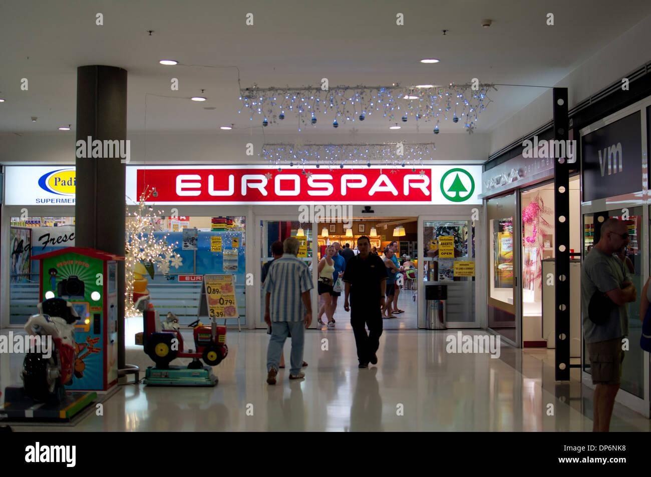 Eurospar supermarket centro comercial atlantico shopping - Centro comercial moda shoping ...
