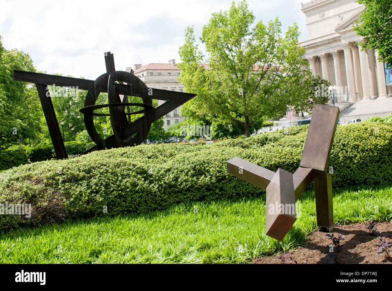 The National Gallery Of Art Sculpture Garden In Washington