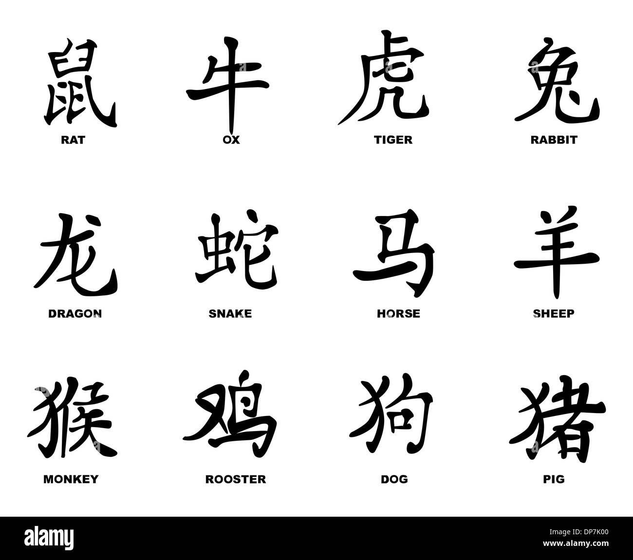 names in chinese writing