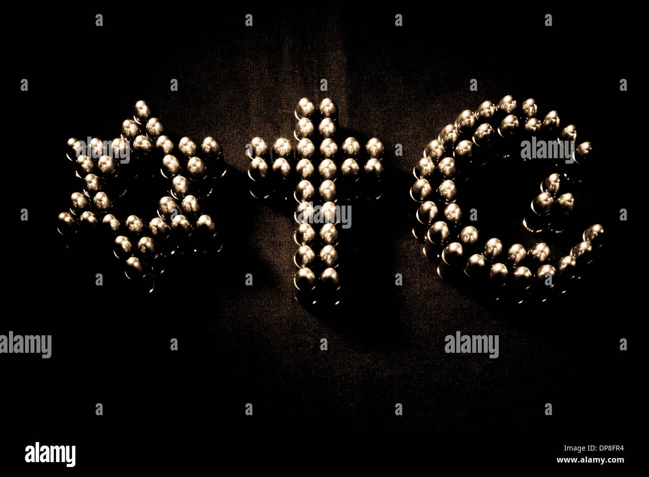 Symbols of abrahamic death cults stock photo 65341560 alamy symbols of abrahamic death cults biocorpaavc Images