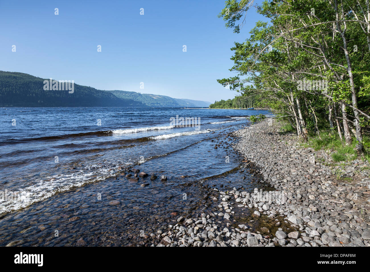 Foyer House Loch Ness : Loch ness at foyers in scotland stock photo alamy
