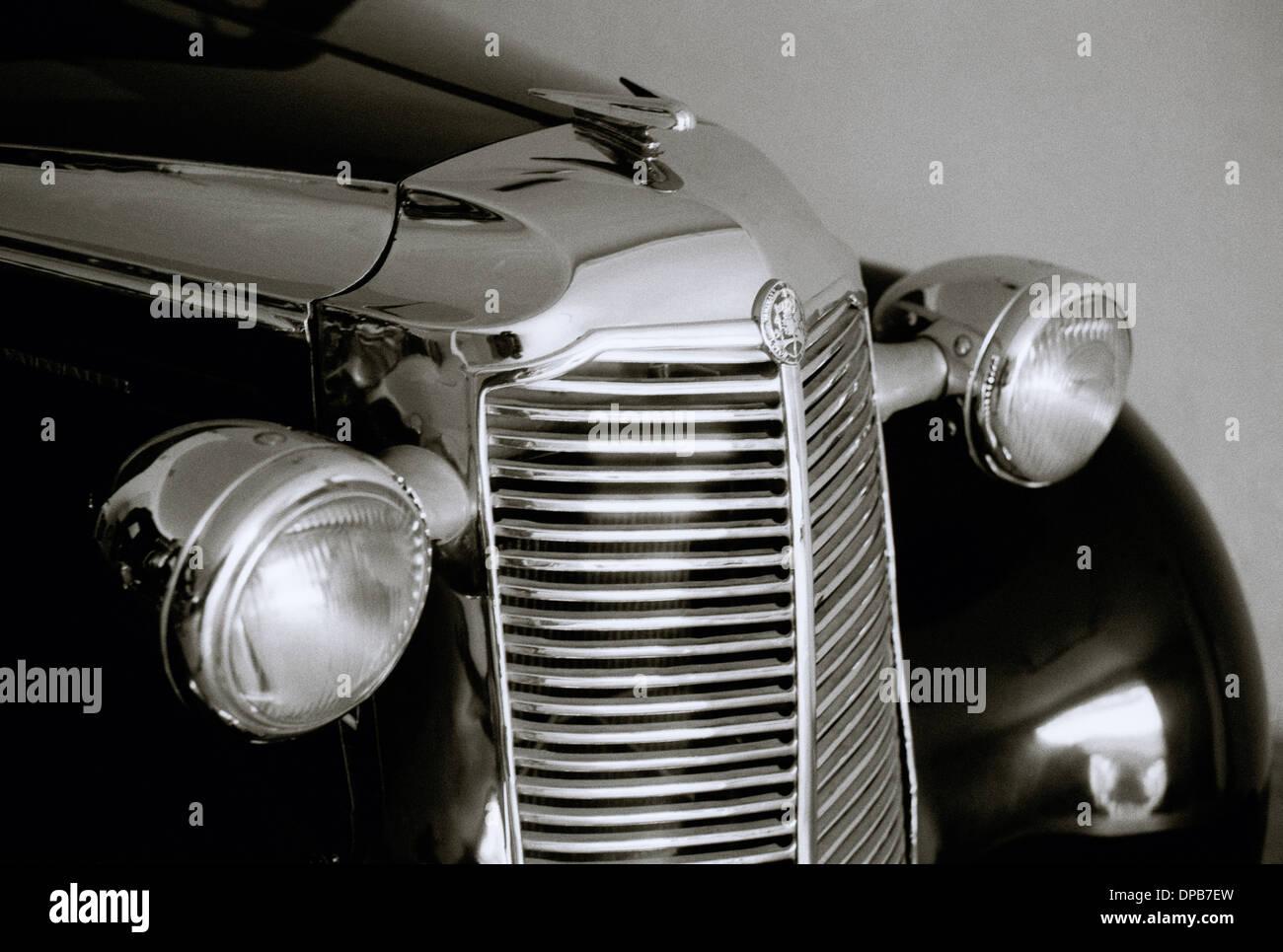 Classic Vintage Car. A nineteen fifties classic vintage Vauxhall ...
