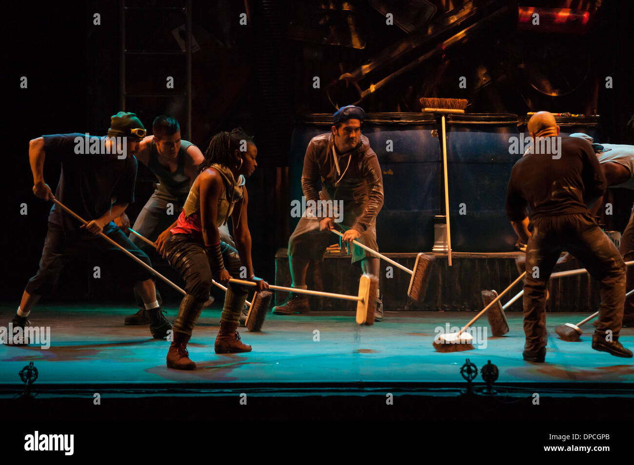 Stomp, the percussion musical that originated in Brighton, England ...