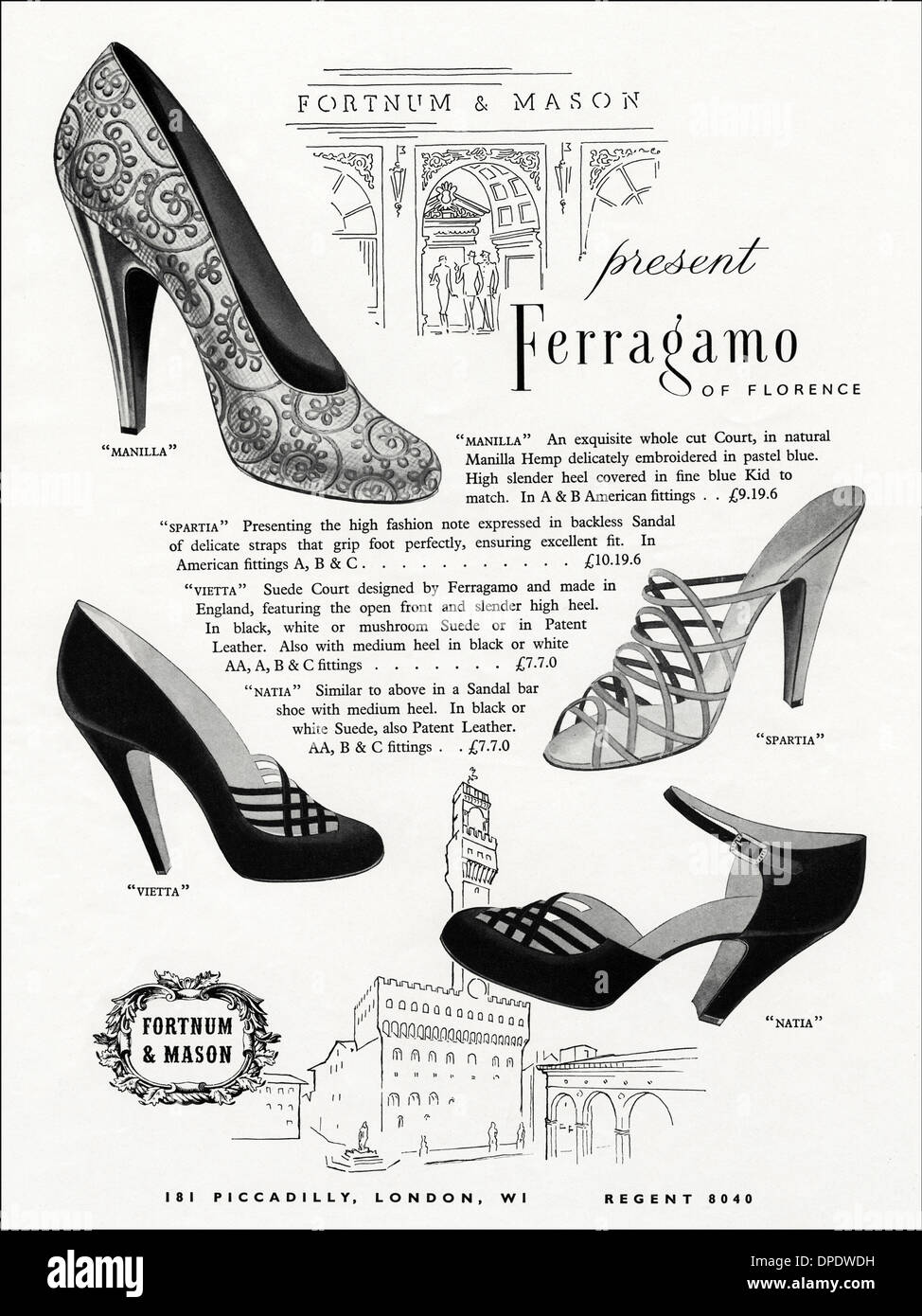 Florence Ladies Shoes