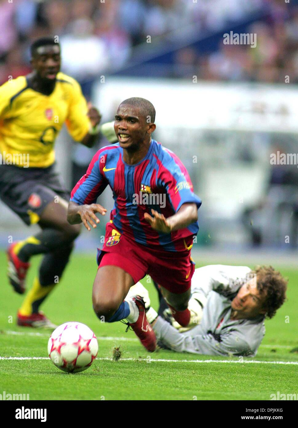 May 17 2006 Stade De France PARIS FRANCE SAMUEL ETO O
