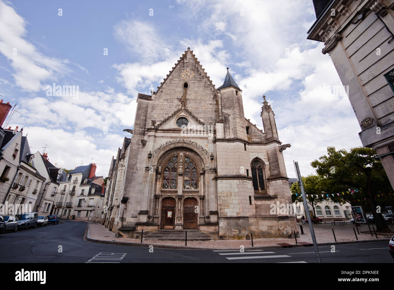 Eglise Saint Symphorien In The City Of Tours France Stock Photo - Tours france