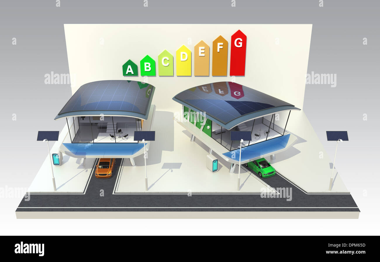 Energy efficient houses with futuristic design, powered by solar ...