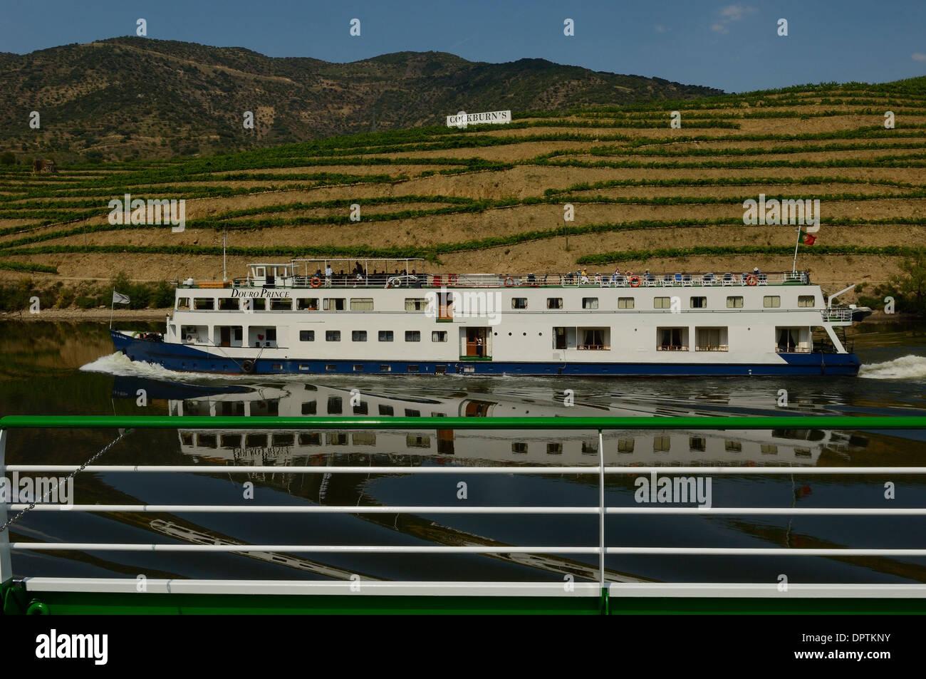 Douro River Cruise Ship Portugal Europe Stock Photo Royalty - River cruise ships europe