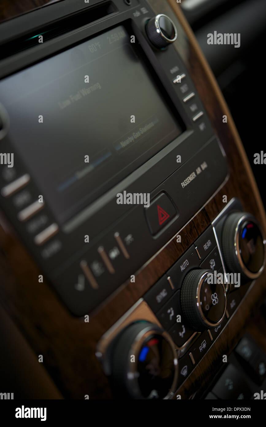 Car interior entertainment - Car Audio With Navigation And Entertainment System Car Interior