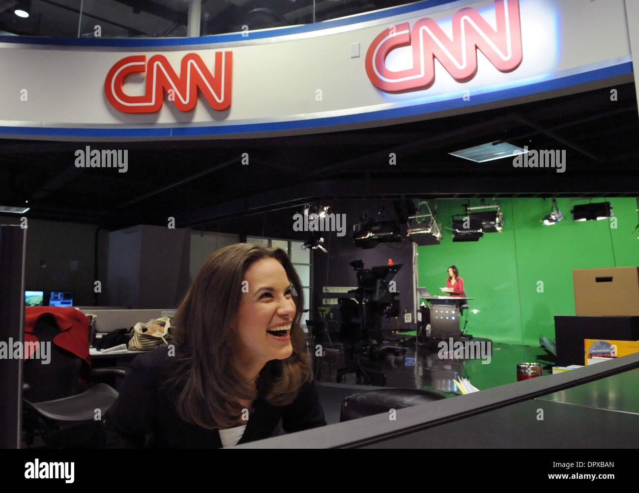 Jan 13, 2009   Atlanta, Georgia, USA   CNN.com Live Anchor MELISSA LONG  Speaks With Colleagues In The CNN.com Newsroom At The CNN Center. Part 66