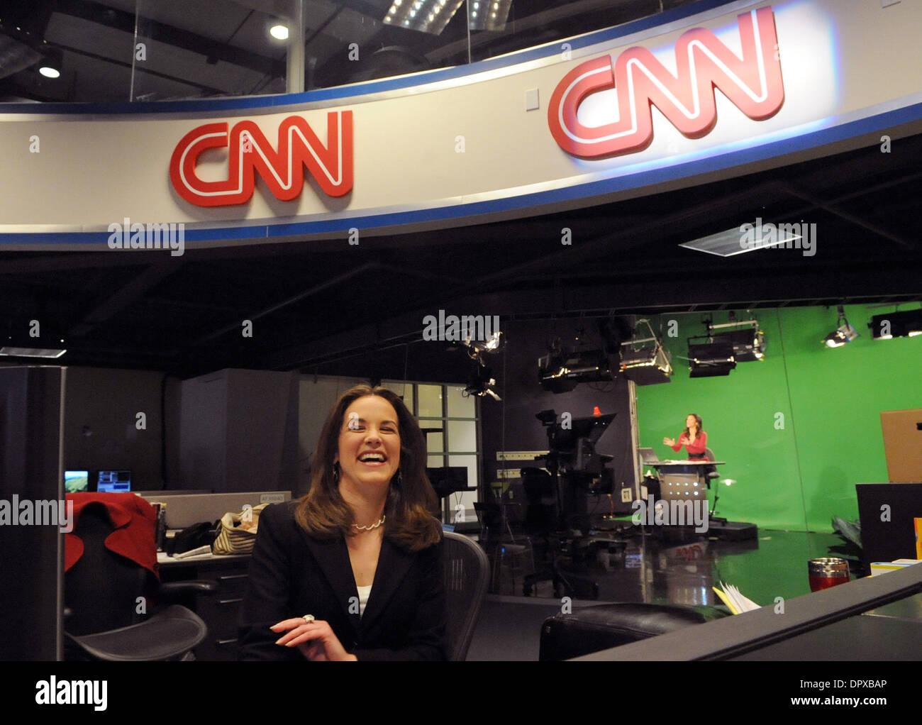 Jan 13, 2009   Atlanta, Georgia, USA   CNN.com Live Anchor MELISSA LONG  Speaks With Colleagues In The CNN.com Newsroom At The CNN Center. Part 91