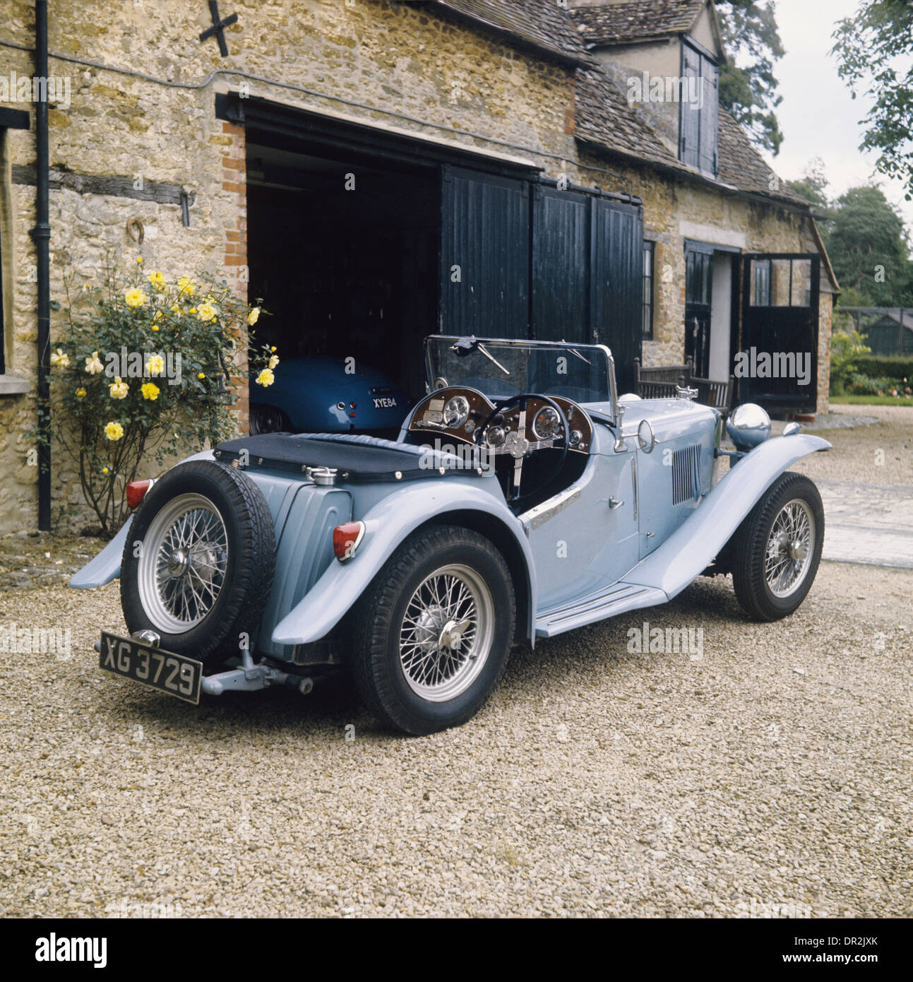 MG PA 1934 model - vintage pre-war classic car Stock Photo ...
