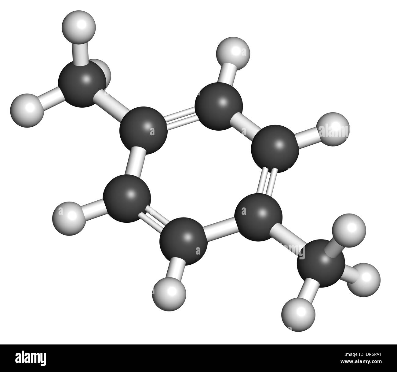 P Xylene Structure Para-xylene (p-xylene)...