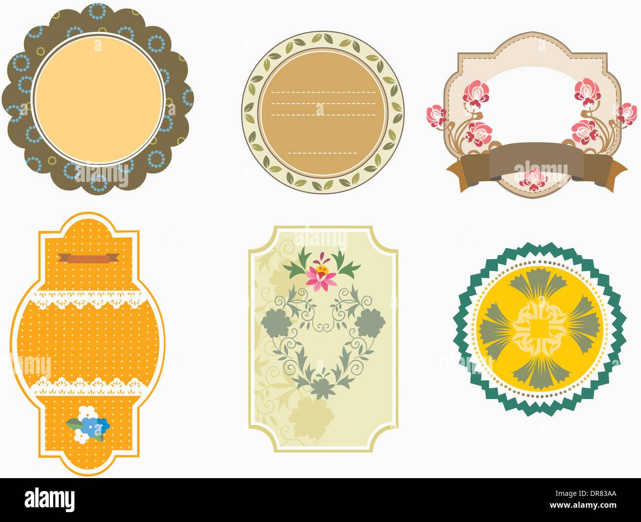 illustration unique set of memo designs stock photo royalty stock photo illustration unique set of memo designs