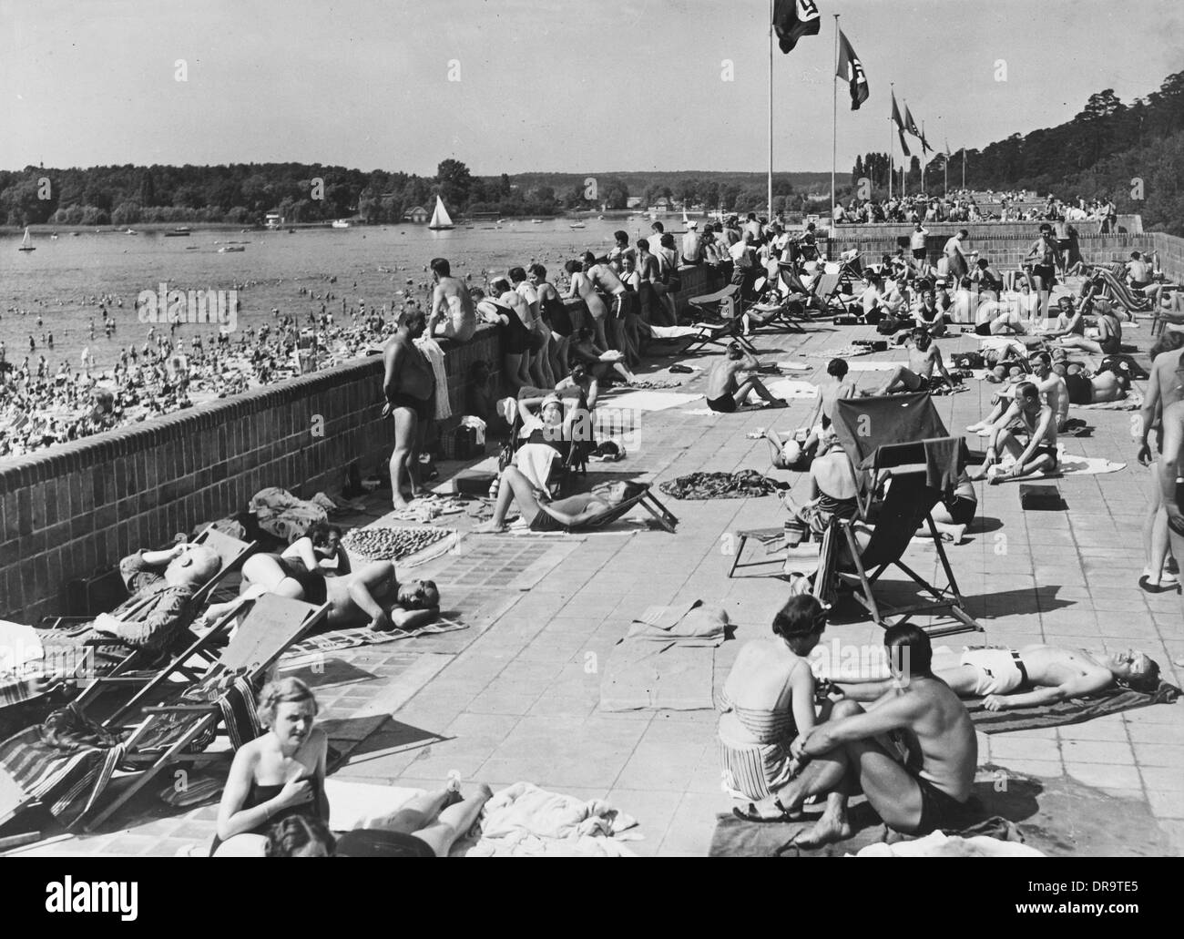 Nazi holiday resort stock photo royalty free image for Nazi holiday resort