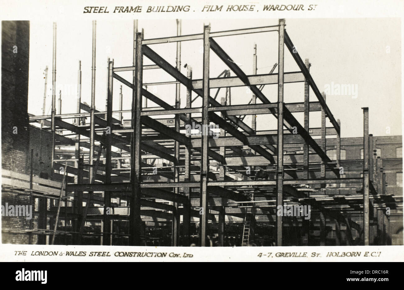 steel frame building construction london