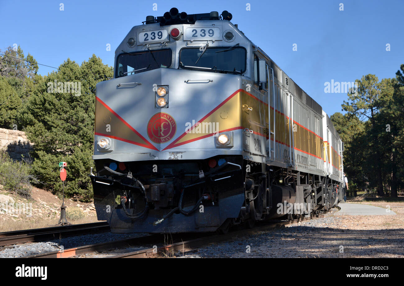 Grand canyon railway loco 239 a 1977 amtrak diesel built for Electro motive division of general motors