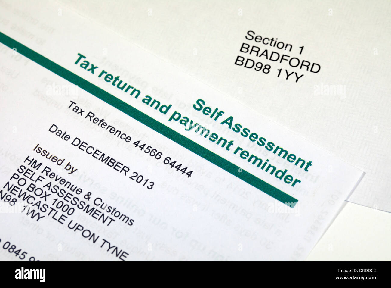 Self assessment Income Tax return and payment reminder Photo – Self Assessment