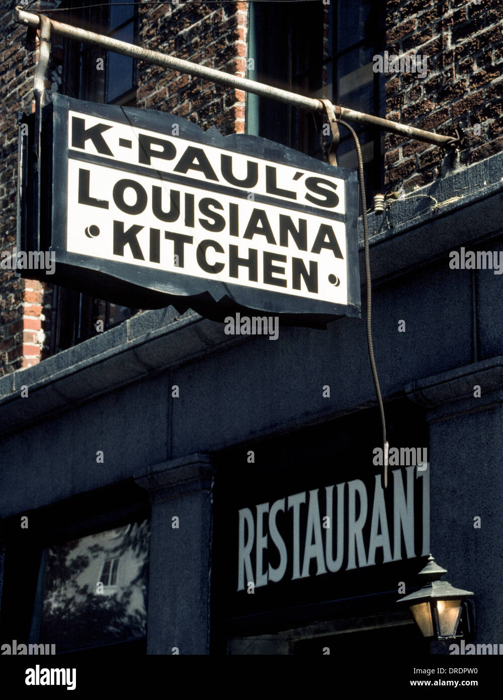 k-paul's louisiana kitchen sign marks the new orleans' french