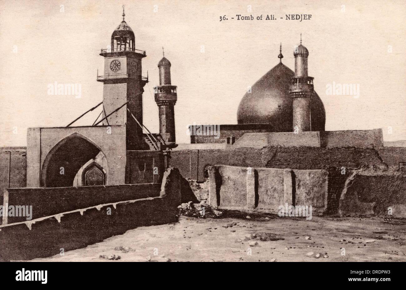 Maula Ali Shrine Wallpaper: Tomb Of Imam Ali, Najaf, Iraq Stock Photo, Royalty Free