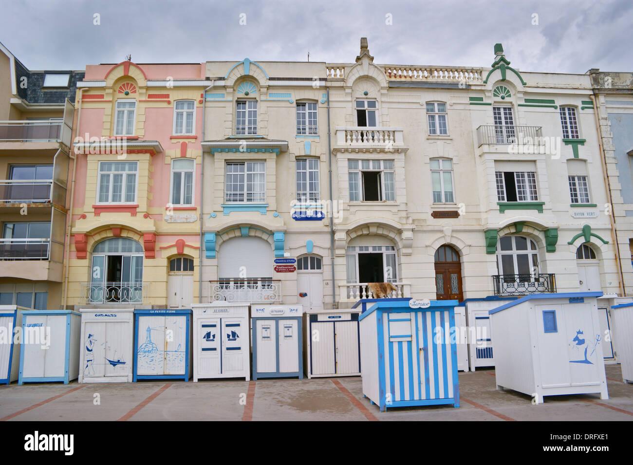 Seafront hotels on the promenade wimereux c te opale for Hotel nord pas de calais avec piscine