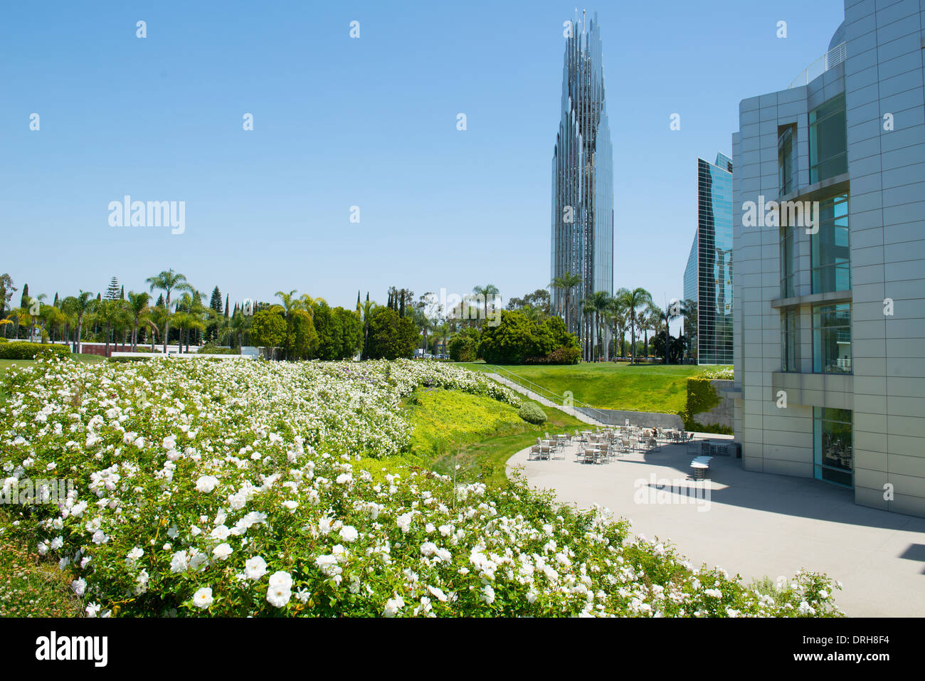 The Crystal Cathedral And Prayer Spire Garden Grove Orange County California  USA