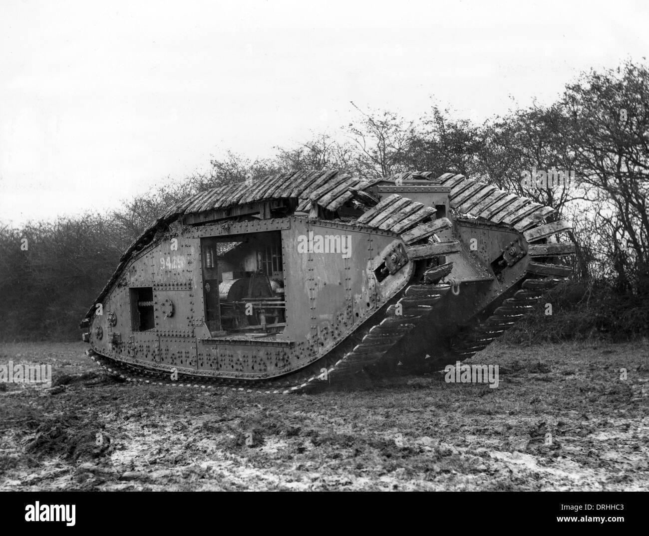 experiment-with-british-mark-v-tank-ww1-