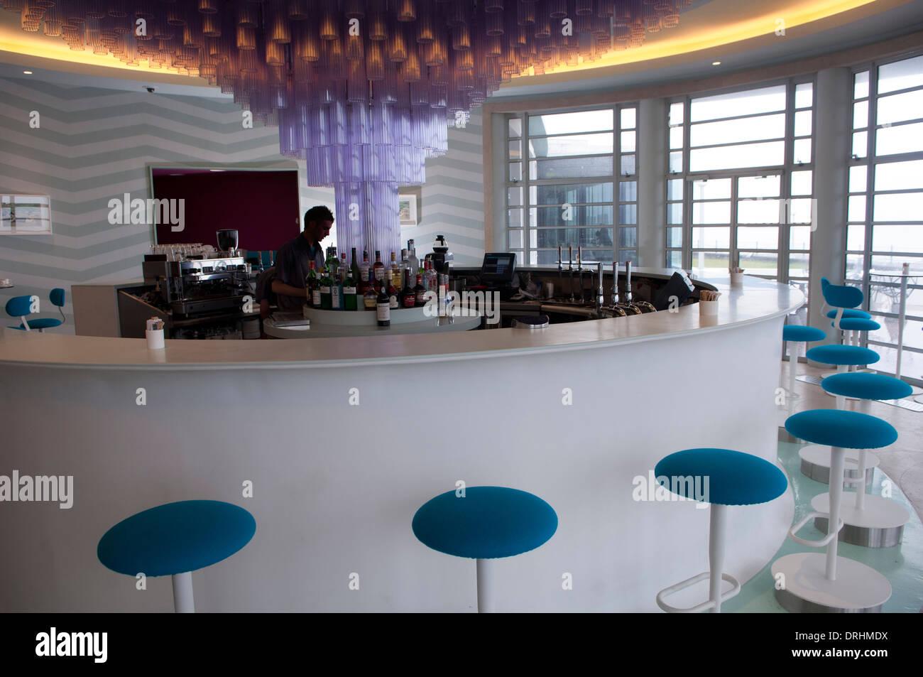 A Bar at The Midland Hotel is a Streamline Modern (Art Deco ...