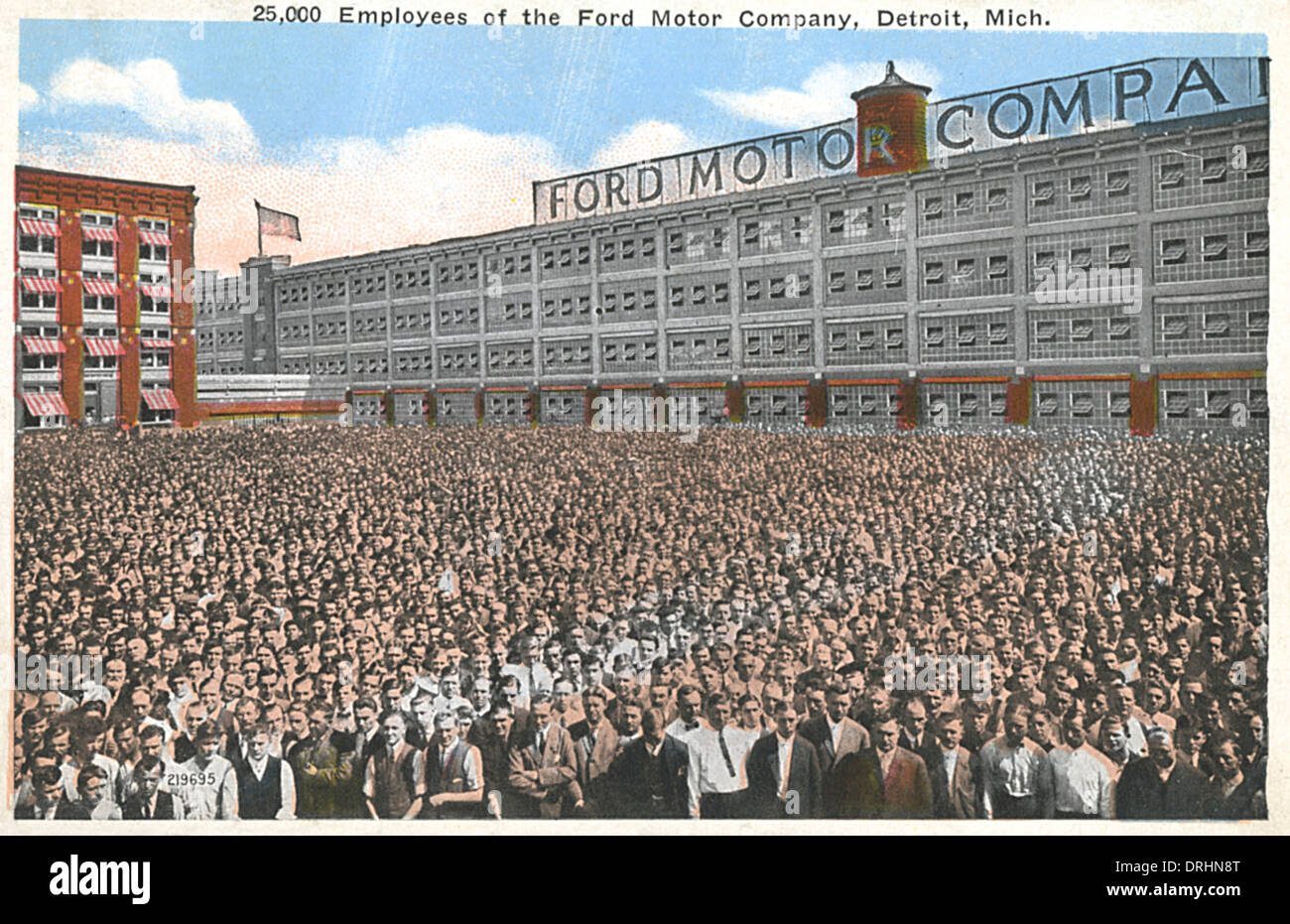 employees ford motor company detroit michigan usa