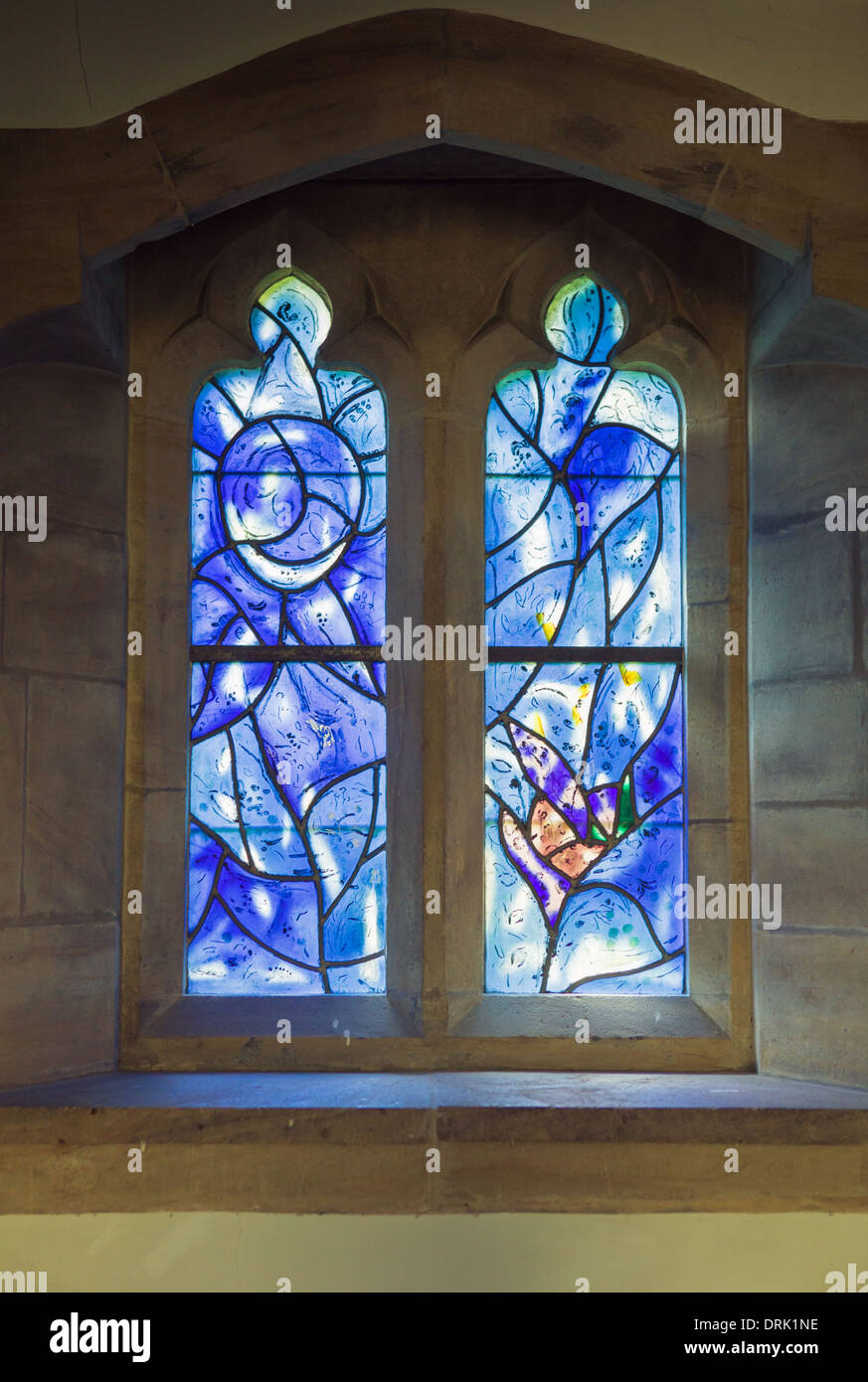 All Glass Windows : Marc chagall stained glass windows in all saints church