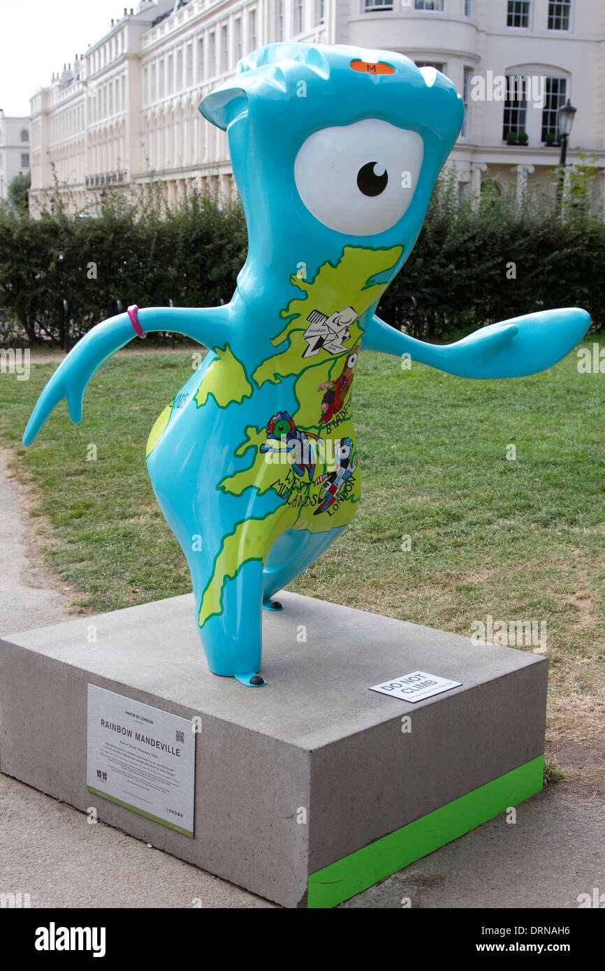 Rainbow Mandeville Which Was Located In Regents Park London - Where is london located