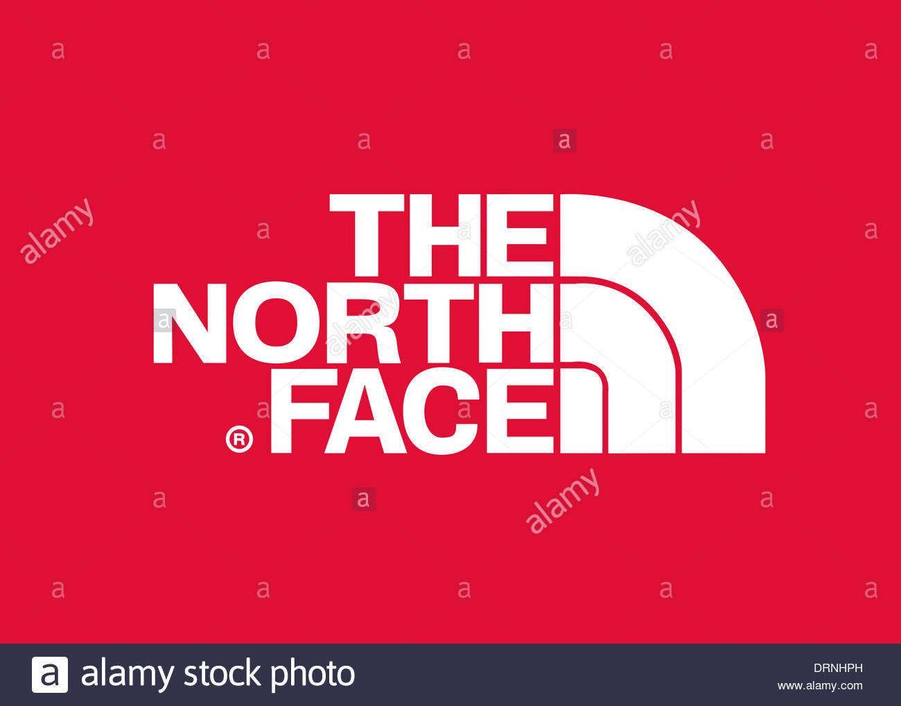 The North face logo symbol flag icon emblem Stock Photo, Royalty ...