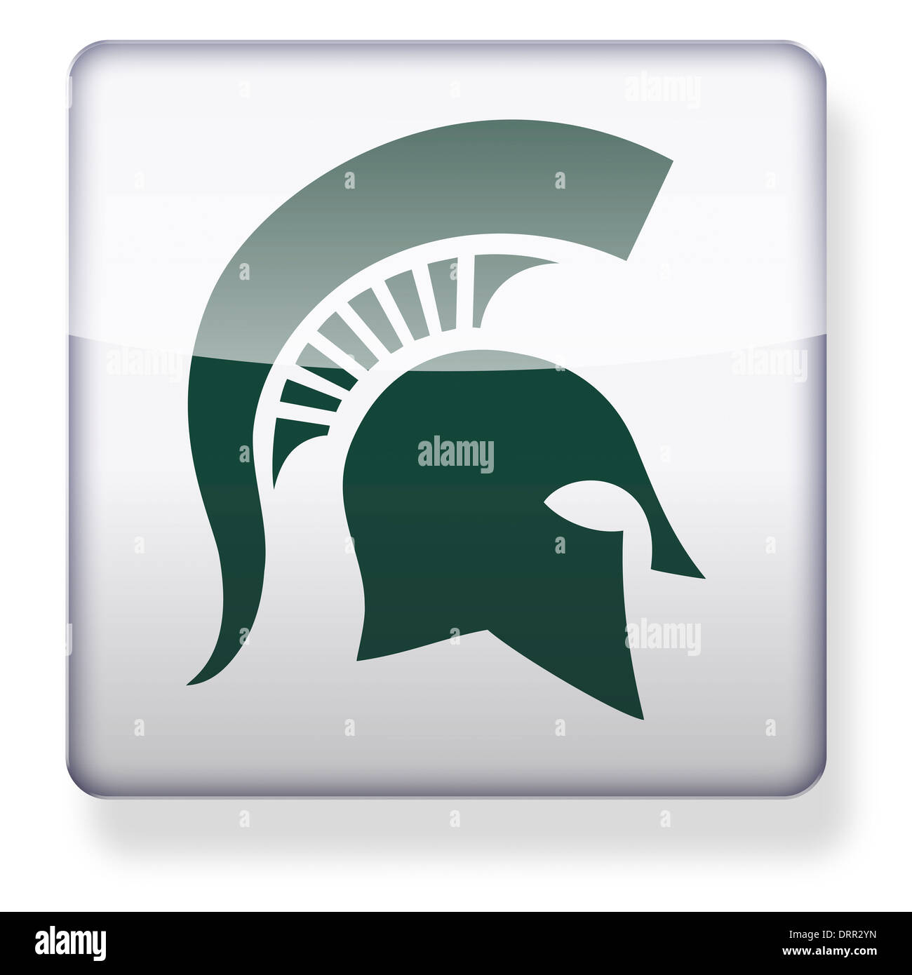 Michigan state spartans us college football logo as an app icon michigan state spartans us college football logo as an app icon clipping path included buycottarizona